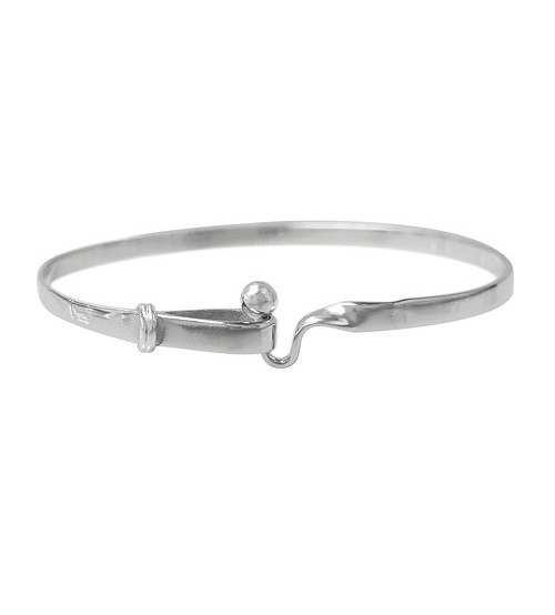 Hook Style Bracelet, Sterling Silver