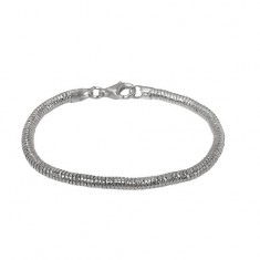 4mm Snake Chain Bracelet, Sterling Silver