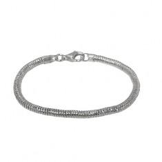4mm Snake Chain Bracelet, Sterling Silver