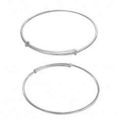 Adjustable Charm Bracelet, Sterling Silver
