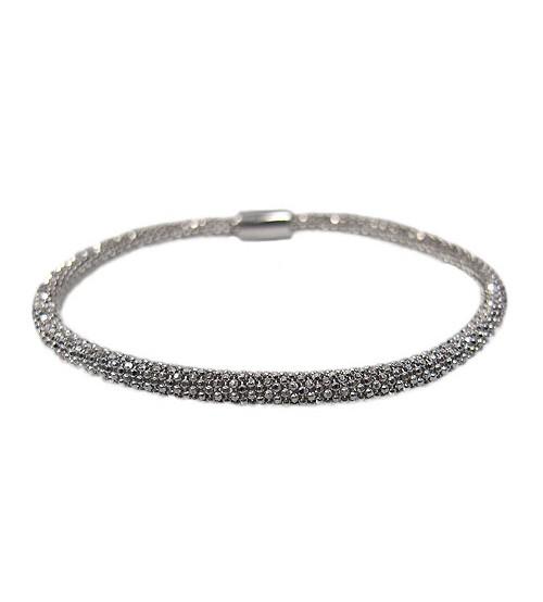 Mesh Style Bracelet, Sterling Silver