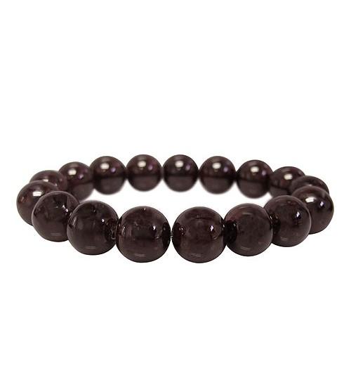 Garnet Elastic Bracelet
