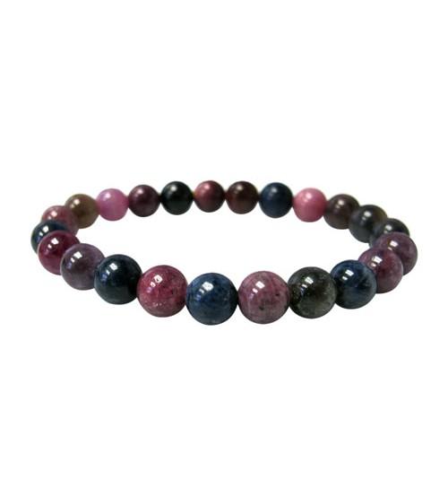 Multi Sapphire Elastic Bracelet