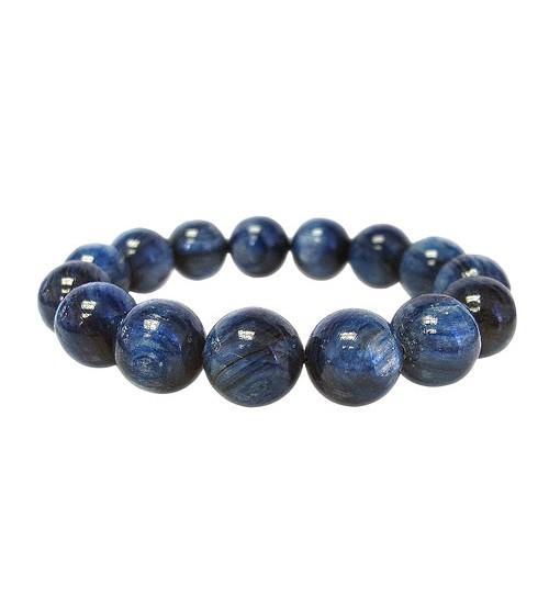 Blue Kyanite Elastic Bracelet