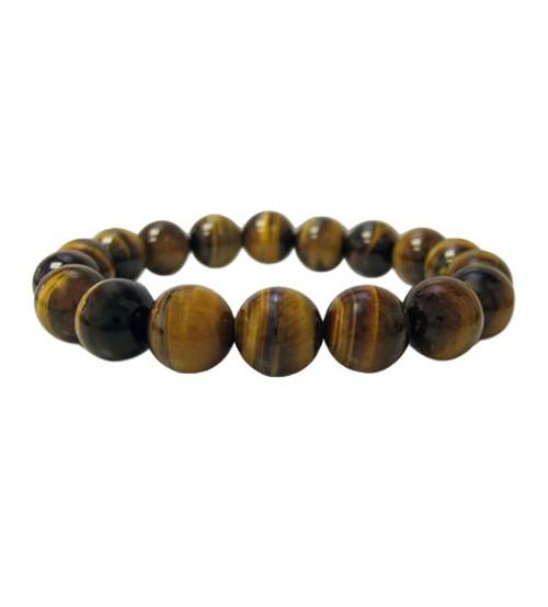 Golden Tiger Eye Elastic Bracelet