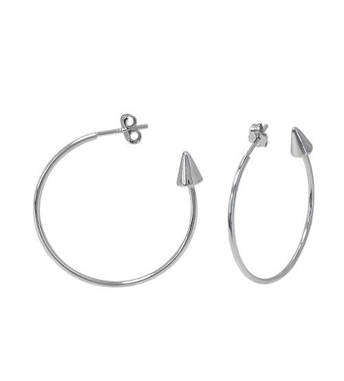 Arrow Head Stud Earrings, Sterling Silver