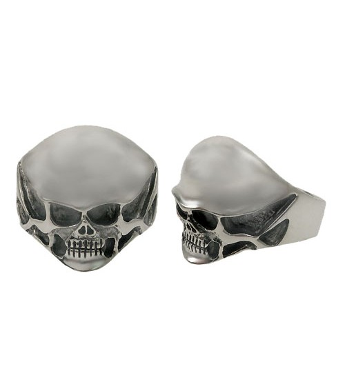 Skull Ring, Sterling Silver, Men's