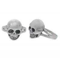 Skull Head Ring, Sterling Silver