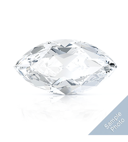 0.36 Carat E-Colour SI1-Clarity Good Cut Marquise Diamond