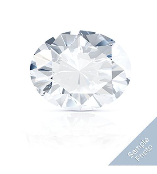 0.33 Carat J-Colour I2-Clarity Very Good Cut Oval Diamond