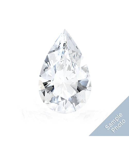 0.48 Carat I-Colour I2-Clarity Good Cut Pear Diamond