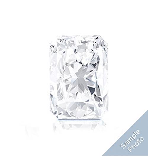0.49 Carat F-Colour VS1-Clarity Very Good Cut Radiant Diamond
