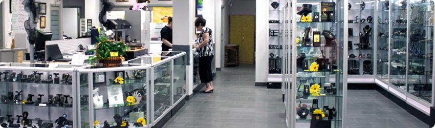 Noyes Jewellers Showroom Floor